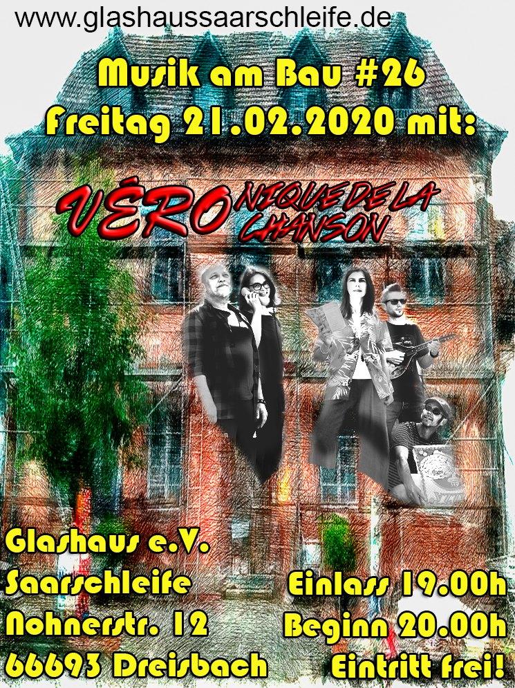Vero live im Glashaus in Dreisbach