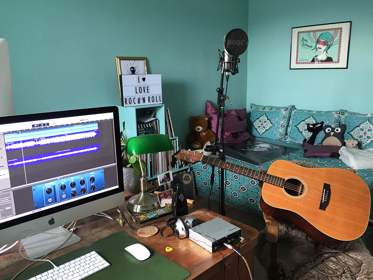 #stayhomechallenge - equipment for homerecording