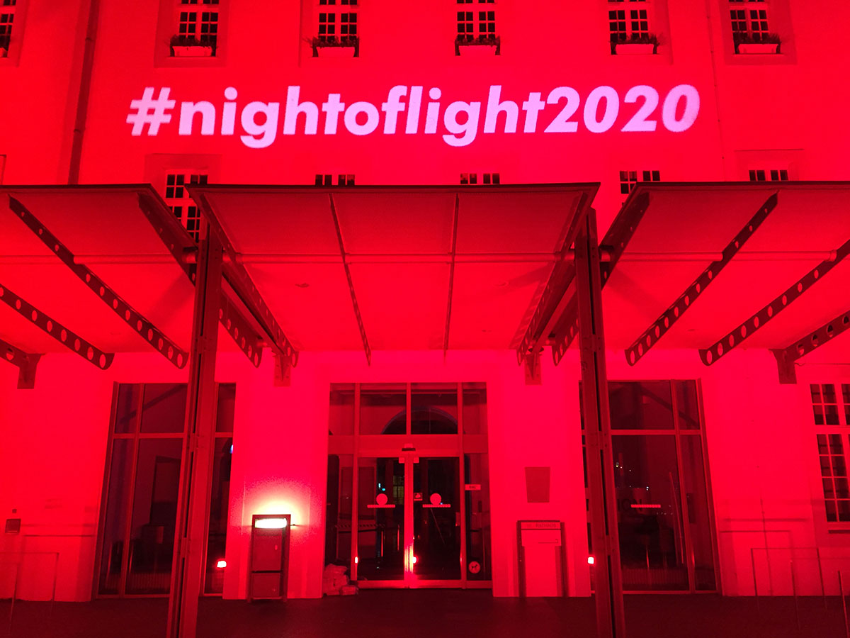 Night of Light 2020 - Rathaus Trier
